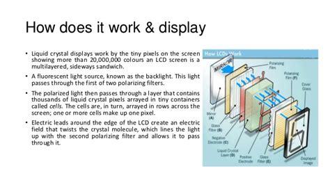how work led lcd cro crt unit iv of m i