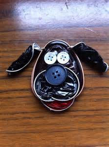 Reusing nespresso capsules diy dog shaped craft idea with clothing