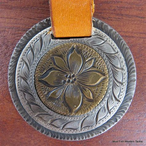 Handmade Conchos - new handmade cecil blasingame silver brass mounted concho