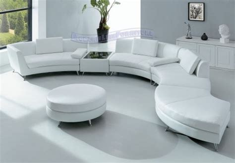 circular sofas uk modern furniture white leather sectional sofa modern