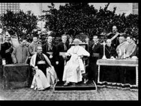 voice of pope leo xiii voce del papa leone xiii youtube