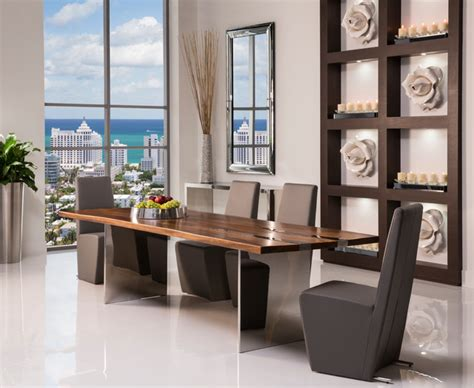 modern dining room sets miami thunder dining set modern dining room miami by el