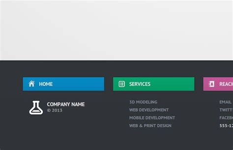 css tutorial header footer create a slide out footer with this neat z index trick
