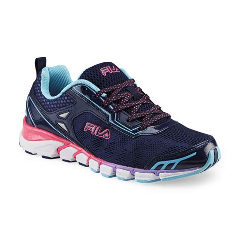 womens fila sneakers fila s mechanic 3 energized navy pink purple running