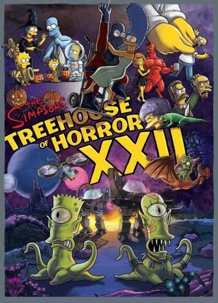 treehouse of horror xxi episode saison 23 233 pisode 3 horror show xxii de