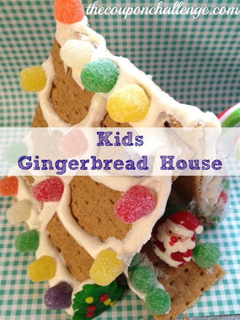 gingerbread house for kids gingerbread house archives the coupon challenge