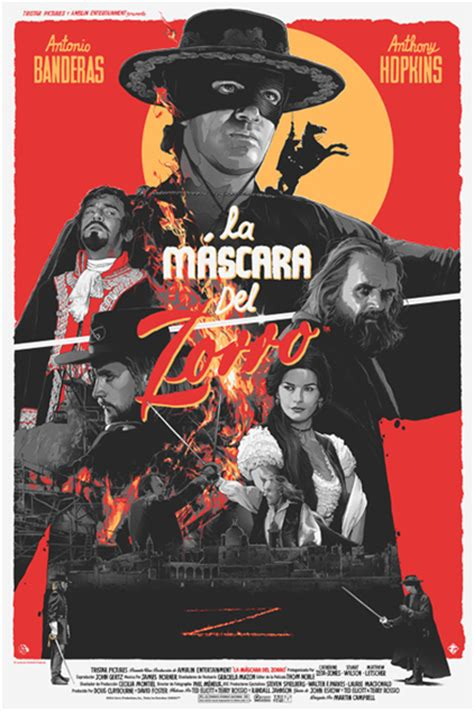 film action zorro poster series features thrilling redesigns of popular