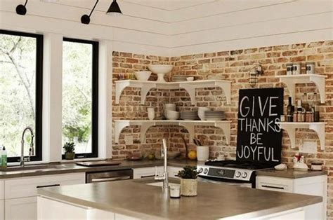 modern brick wall 25 modern kitchens and interior brick wall design ideas