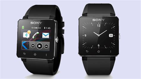 Sony Android Smartwatch 2 sony smartwatch 2 launched water resistant with nfc