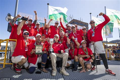wild oats wins sydney  hobart   record eighth time daily mail