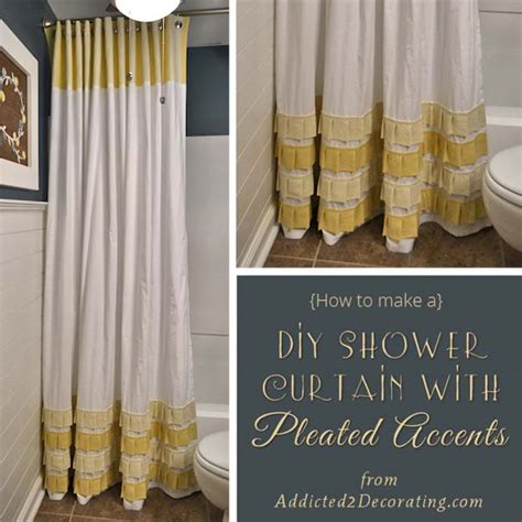 diy bathroom curtains 35 fun diy bathroom decor ideas you need right now