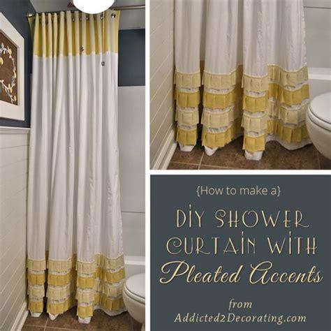 diy bathroom curtain ideas 35 fun diy bathroom decor ideas you need right now diy