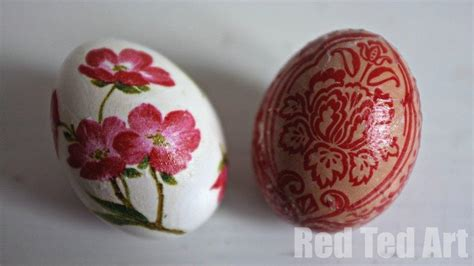 decorating eggs egg decorating ideas decoupage