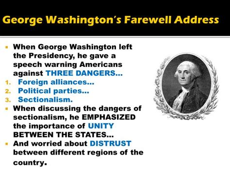 washington s farewell the founding s warning to future generations books ppt slavery powerpoint presentation id 5839353