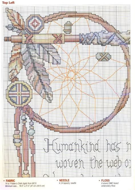 dreamcatcher web pattern meaning crosses cross stitch patterns and stitch patterns on