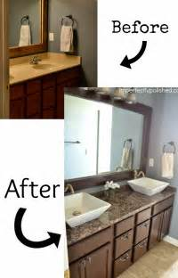 Bathroom Vanity Makeover Ideas by Pneumatic Addict 7 Best Diy Bathroom Vanity Makeovers