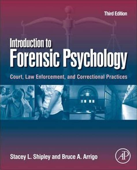 introduction to forensic psychology research and application books introduction to forensic psychology stacey l shipley