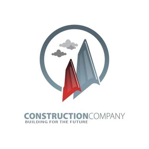 construction company logo design templatesbox com