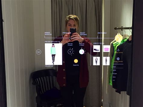 The Technology To Hit The Fitting Rooms Interactive Mirrors by I Tried The New Fitting Room At Ralph And It Blew