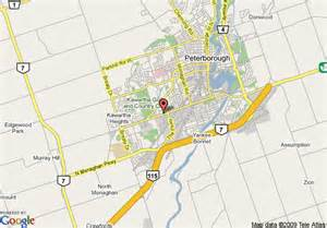 peterborough canada map map of quality inn peterborough peterborough