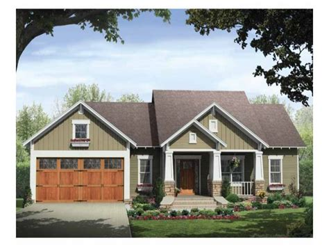 Craftsman Style House Plans One Story by Single Story Craftsman House Plans Craftsman Style House