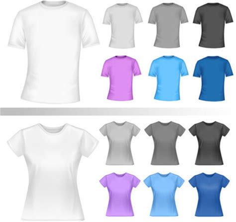 t shirt template illustrator free vector 218 366