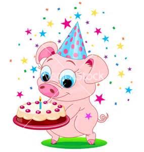 birthday pig clipart (51+)