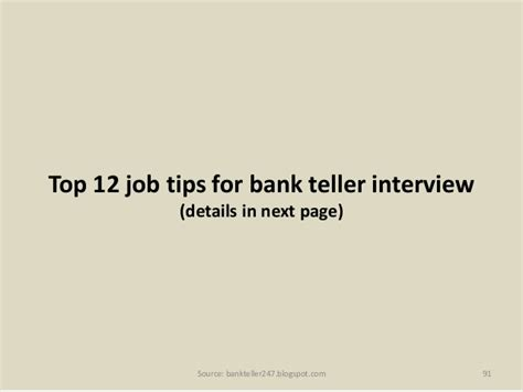80 bank teller questions and answers