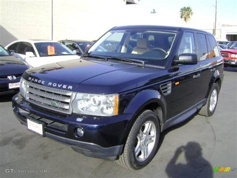 metallic land rover 2006 buckingham blue metallic land rover range rover sport