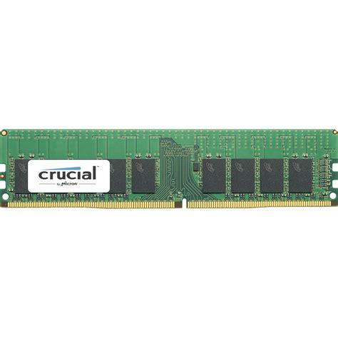 Memory Pc Ddr4 crucial 16gb ddr4 2400 mhz rdimm memory module ct16g4rfd824a b h