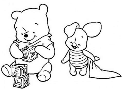 coloring pages of baby winnie the pooh and friends baby winnie the pooh coloring pages coloring home