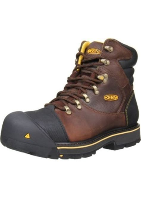 keen steel toe work boots keen keen utility s milwaukee 6 inch steel toe work
