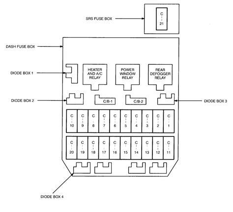 2003 Isuzu Rodeo Window Fuse Box Diagram Wiring Library