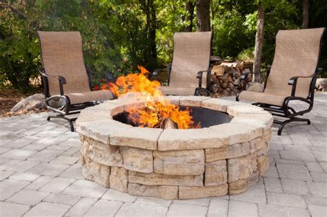 Paver Fire Pit Kit Fire Pit Ideas Paver Pit Kit