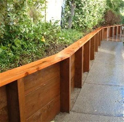 25 best ideas about wood retaining wall on pinterest sleeper wall sleeper steps and sleepers