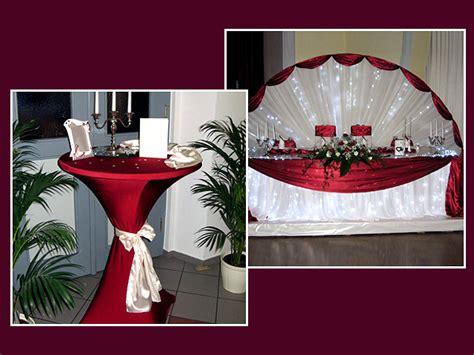 Tischdekoration Hochzeit Rot by Tischdeko Bordeaux Hochzeitsblog