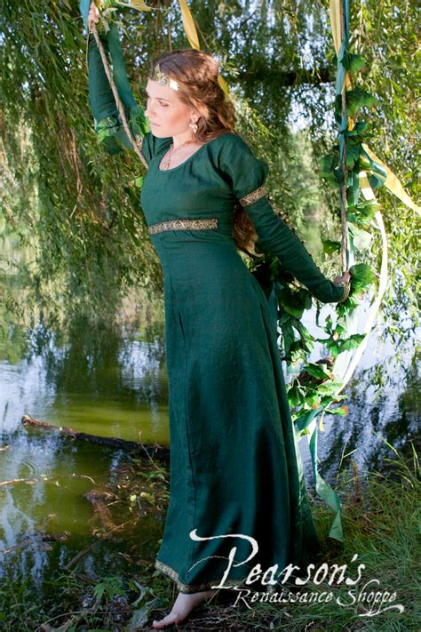 forest princess medieval renaissance clothing costumes