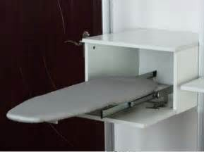 slide out fold ironing iron board closet wardrobe