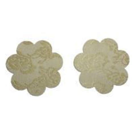 Fishnet Hitam Pita S023 n010 cover disposable bunga krem motif bunga