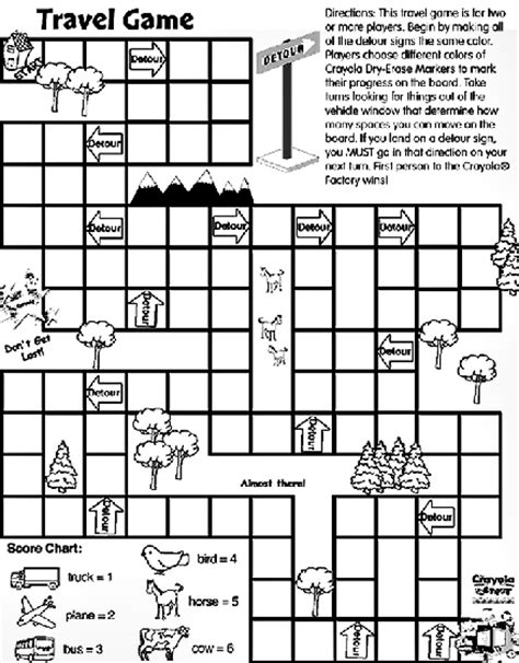 crayola coloring pages online games travel game coloring page crayola com
