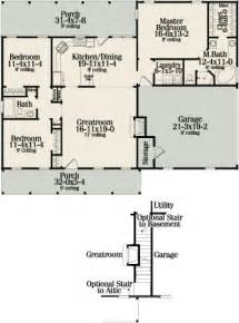 Small Ranch Homes Floor Plans by Sutherlin Small Ranch 5458 3 Bedrooms And 2 5 Baths