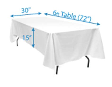 60 x 84 tablecloth fits what size table determining tablecloth size wholesale event solutions