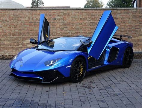 lamborghini aventador sv roadster blue 2016 66 lamborghini aventador sv roadster for sale blue nethuns full throttle