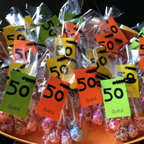 Giveaways For 50th Birthday - best 25 50th birthday favors ideas on pinterest 50th birthday party favors 40th
