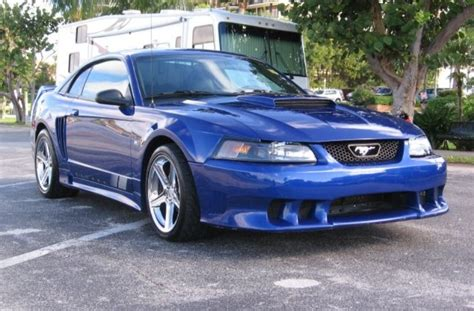 2003 saleen mustang sonic blue 2003 saleen s281 ford mustang coupe