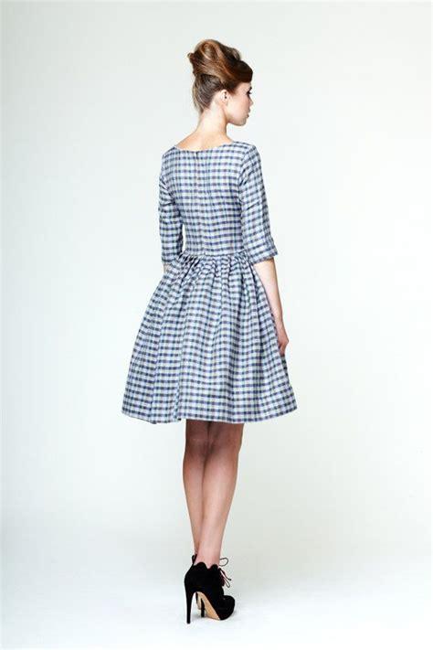 Agnia Dress agnia custom made linen dress by mrspomeranz on etsy