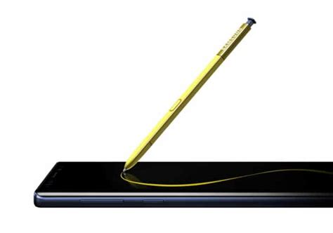 samsung galaxy note 9 s pen top 5 features