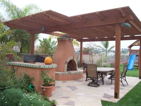 southwest backyard designs southwest patio cover julie s design ideas pinterest