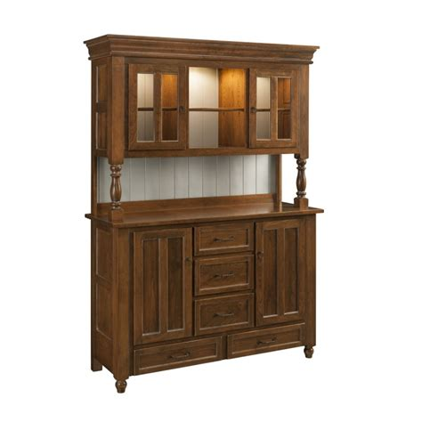 Bedford Buffet Hutch Solid Hardwood Furniture Locally Bedford Buffet