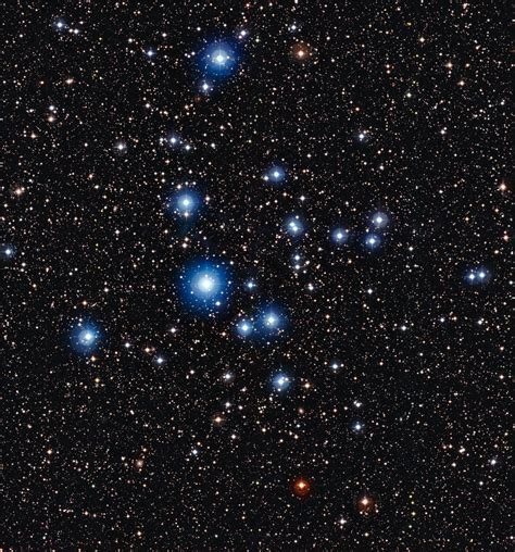 background que es the blue stars of cluster ngc 2547